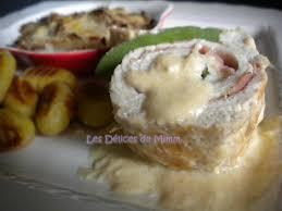 cuisine escalope de dinde escalopes de dinde farcies au jambon cru à la sauge et à la