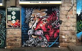 Famous Street Mural Artists by Young Artist Turns Jerusalem U0027s Market Into Gallery Of Famous Faces