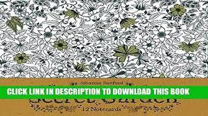 PDF Secret Garden 12 Notecards Full Colection