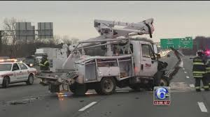 Driver Killed In Utility Truck Rollover Crash On I-95 In Delaware ... Semi Truck Crashes Accidents Youtube Regulators Tankertruck Crashes And Spills An Creasing Worry On Smart Car Slams Into Dump Truck 405 In Inglewood Abc7com Best Accident Compilation Amazing Drivers Indicted Two Separate 5fatality 2015 I Gurnee Il Semi Original Video Into Row Of Houses Kills 5 Opposing Views Video Accident New Jersey Turnpike I95 House Abbotsford Charges Pending For Ftilizer Highway 32 West Toohigh Railroad Bridge