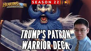 Warrior Hearthstone Deck Grim Patron by Hearthstone Trump Plays Grim Patron Warrior Deck With Sir Finley