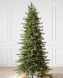 Balsam Christmas Tree Care by Red Spruce Slim Artificial Christmas Trees Balsam Hill
