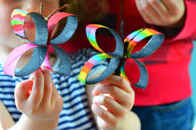 Tp Butterfly Final Make Beautiful Spring Butterflies Out Recycled Toilet Paper Rolls
