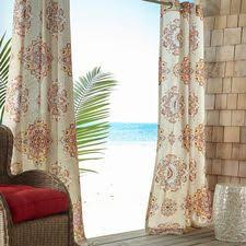 Pier 1 Imports Peacock Curtains by Pier 1 Imports Calliope Cream Grommet Curtain 120 Liked On