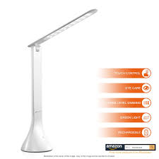 Amazonca Desk Lamps by Moobibear Dl001p Dimmable Led Desk Lamps 3 Level Brightness Touch