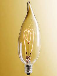 candelabra base edison style clear bulb 15 watt house of