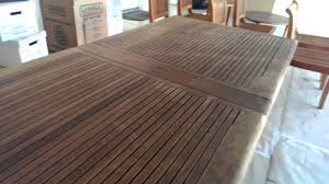 Smith And Hawken Teak Patio Chairs by Smith Hawken Teak Cleaning And Preparations Youtube