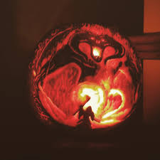 Easy Shark Pumpkin Carving by Incredible Lord Of The Rings