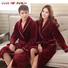 robe de chambre homme chaude hommes femmes de luxe d hiver peignoir hommes chaud soie