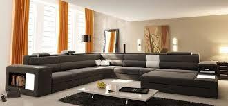 salon canapé gris confortable canapé gris salon deco maison moderne