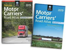 100 Atlas Trucking Rand McNally Es State Maps Street Maps Wall Maps