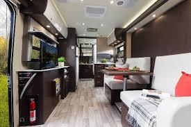 Class B Rv With Murphy Bed Inside 2015 Leisure Travel Vans Unity U24MB Motorhome Roaming Times