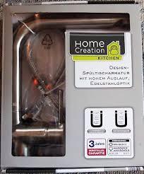 design spültischarmatur küche home creation neu