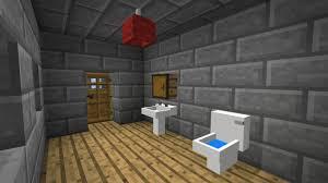 Minecraft Pe Room Decor Ideas by Bathroom In Minecraft Minecraft How To Make A Bathroom Tutorial