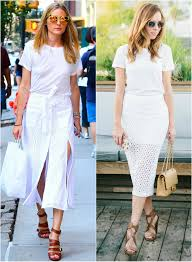 Sydne Style Shows How To Get Olivia Palermo Celebrity Street For Less In White Tee
