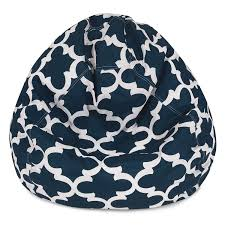 Amazon.com: Majestic Home Goods 81001093301 Trellis Large ... Shop Regal In House Bean Bag Chair Navy S Online In Dubai Lifestyle Vinyl Blue Bean Bags Twist Stripes Outdoor Amazoncom Wild Design Lab Elliot Cover 6foot Microfiber And Memory Foam Coastal Lounger Nautical And White Buy Large Comfort Seating Fniture For Classic Fully Comfortable Washable Velvet Can Bean Bags Denim With Piping Ftstool Blue Lounge Pug Denim Adult Beanbags Inflatable Lazy Air Bed Couch Sofa Hangout