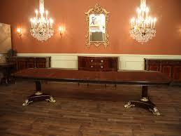 Mahogany Dining Room Table Extra Large Jpg