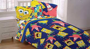 spongebob bedding toddler bed comforter and blanket