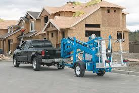 100 Truck Mounted Boom Lift Genie TZ3420 Trailer