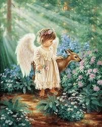 An Angels Blessing Dona Gelsinger American