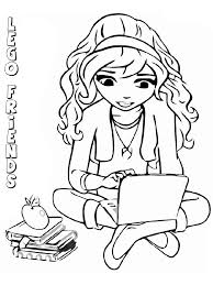 Lego Friends Coloring Pages 16