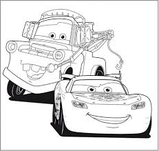 Lightning Mcqueen Coloring Pages - GetColoringPages.com