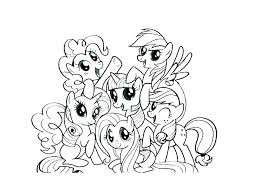 My Little Pony Coloring Pages Pdf Colouring Book