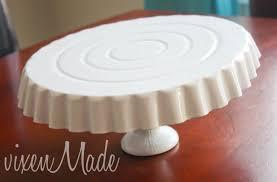 DIY dollar store cake stand
