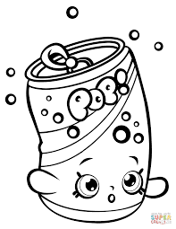 Click The Soda Pops Shopkin Coloring Pages To View Printable Version Or Color It Online Compatible With IPad And Android Tablets