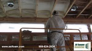 Insulating A Cathedral Ceiling Building Science by Closed Cell Polyurethane Foam Insulation In Ceiling Youtube