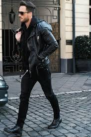 best 25 leather jacket man ideas on pinterest mens biker jacket