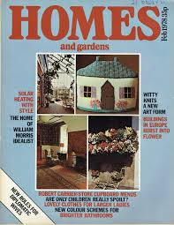 100 House And Home Magazines HOMES AND GARDENS UK MAGAZINE FEBRUARY 1978 Vintage And Modern Birthday Presents From Tilleys Sheffield