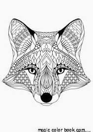 Adults Simple Woman Patterns Coloring Pages