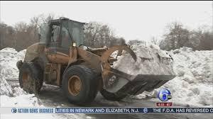 Massive Snow Pile Causing Headaches For Trenton Community   6abc.com