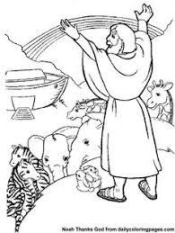 Noahs Ark Bible Coloring Sheets