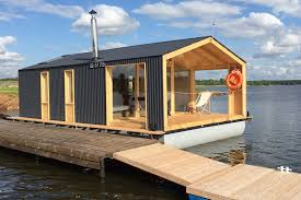 DublDom Houseboat, A Modular Floating Cabin | DublDom | Small ... Prefab Homes Ideas Trendir Container In Shipping For Sale On Home Design Homes For Sophisticated Tastes La Times Warm Small House With Snowy Garden View And Unique V Exterior Modern Fabulous Houses Eco Modular Breathtaking Gallery Best Idea Home Design Prefabricated Concrete Designs Tropical Contemporary 7680 Simple Impressive Iranews Appealing All Youtube Prebuilt Residential Australian Prefab Factorybuilt