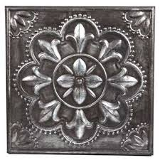 Hobby Lobby Wall Decor by Surprising Metal Wall Decor Hobby Lobby Pewter Flower 990689