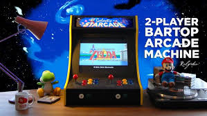 2 player bartop arcade machine powered by pi 19 steps with