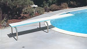 Inground Swimming Pool Diving Board
