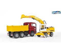 Bruder Toys 02751 Pro MAN TGA CONSTRUCTION TRUCK WITH LIEBHERR ... Bruder Man Crane Truck Best Gifts Top Toys Amazoncom Mack Granite Fire Engine With Water Pump 02751 Pro Tga Cstruction Truck With Liebherr Mack Dump Plow Of America Scania Rseries Cargo Forklift Vehicle Toy By Tgs Rear Loading Garbage Waste 3 Mb Arocs Winter Service Snow Buy 116 Linde Fork Lift H30d 2 Pallets Online Liebherr Scale Functional Trucks For Kids Unboxing Jcb Backhoe Model 02754 Farm