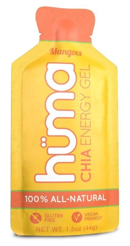 Huma Gel Chia Energy Gel Mangoes 1.5 oz.