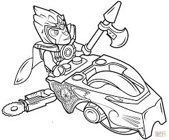 Beautiful Lego Chima Coloring Pages 31 For Free Kids With