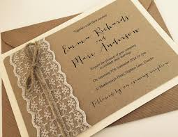 1 Vintage Rustic Shabby Chic Emma Lace Wedding Invitation And RSVP Env SAMPLE