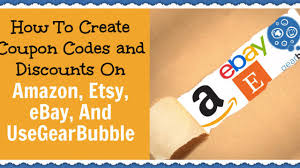 How To Create Coupon Codes And Discounts On Amazon, Etsy ...