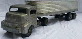 100 Smith Miller Trucks Vintage 1950 Silver Streak Smitty Toys Fruehauf Trailer