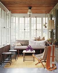 Interior Design Wood Sunroom Ideas