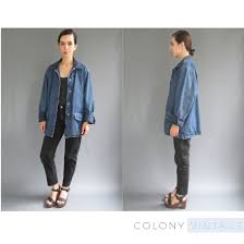 New To ColonyVtg On Etsy: 90s Oversized Long Denim Jacket Medium ... Wrangler Womens Sherpa Denim Jacket Boot Barn Vintage Lee 81 Lj Chore Jacket 44 R 30s 40s Barn Coat Kate Spade Saturday Lost Pocket Nordstrom Rack Jackets Coats For Women American Eagle Outfitters This Will Be Your New Favorite Fall Mens Journal Rrl Fremont In Blue Men Lyst Two Jacks Supreme Louis Vuitton X Size M Vintage 1950s Coat Iron Charlie Outerwear Walmartcom Famous Cataloger With Removable Vest