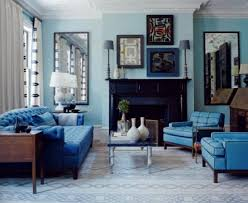 modern interior design ideas enriched by blue colors