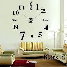 Horloge Mural 3d Achat Vente Pas Cher Grande Horloge Murale Design Pas Cher Simple Design Grande