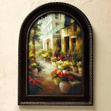 Tuscan Plates Wall Art Metal Decor Designs Best Design With Mixed Wrought Iron Oversized